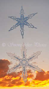 Dolores Peak Snowflake and El Diente Snowflake