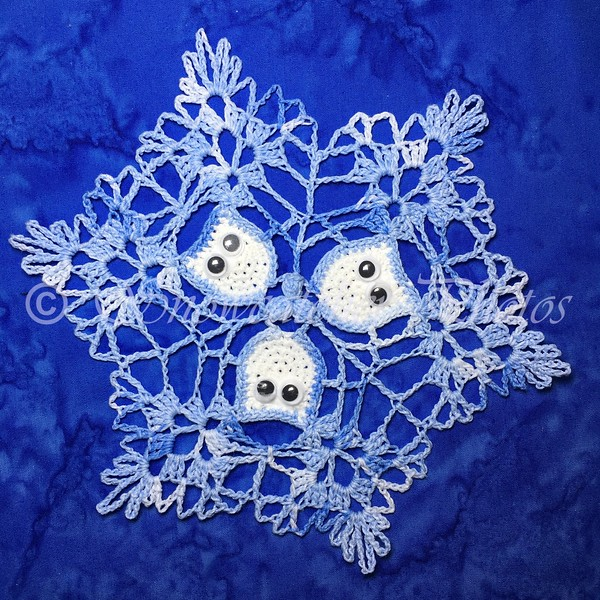 Owl Pyramid Snowflake
