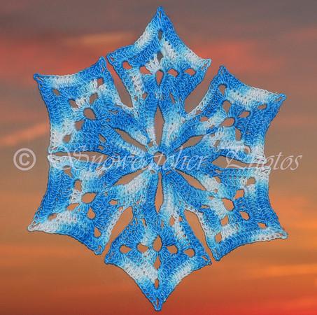 Mount Sneffels Snowflake