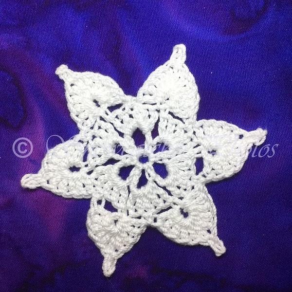 Teal Treasure Snowflake