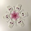 Pink October Nocturne Snowflake