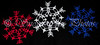 Six Points of Grace Snowflakes