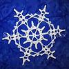 Crocheted Pyeongchang Snowflake
