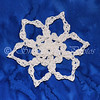 "White <a href=""http://www.snowcatcher.net/2012/05/snowflake-monday_21.html"" target=""_blank"">Berry-stained Snowflake</a>"