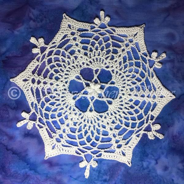 Pineapple Blossom Snowflake