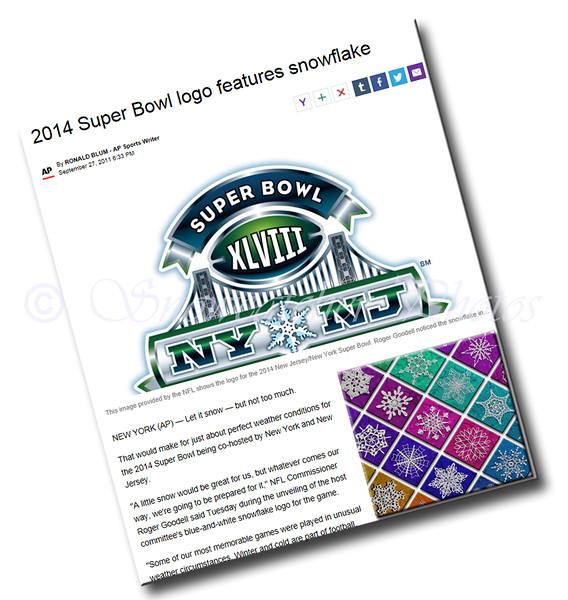 Associated Press Coverage of the 2014 Super Bowl Venue Logo