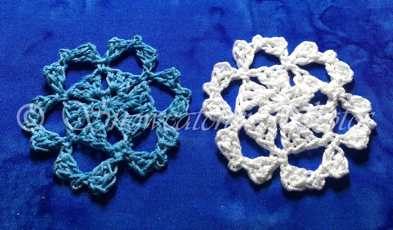 Teal Thrill Snowflakes