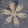 Indigo Ice Snowflake
