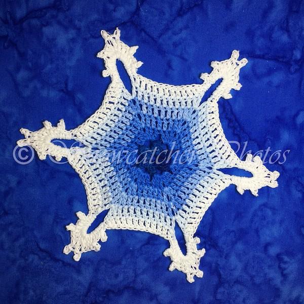 Colorful Snowbound Snowflake