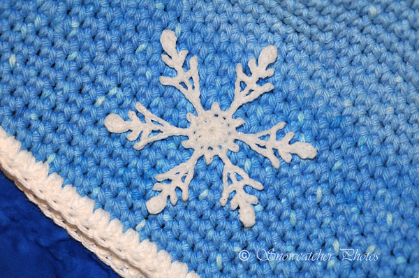 Sochi Snowflake on Fjord Beanie