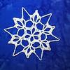 Motifless Monarch Park Snowflake