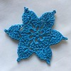 Teal Treasure Snowflake