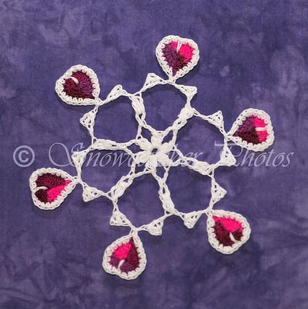 Medallion IV Snowflake