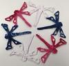 Patriotic Dragonfly Snowflake