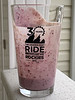 Strawberry Blueberry Plain Yogurt Shake
