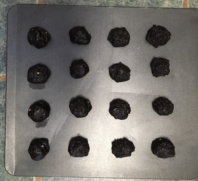 Chocolate Lava Hatch Chile Cookies