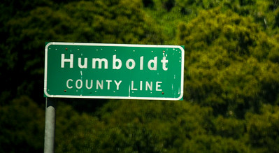 humboldt county line sign