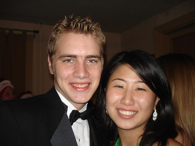 Rob Page and Christine Hsu at the DPE Christmas Party - Washington, DC ... December 3, 2005 ... Photo by Kyle Zilles