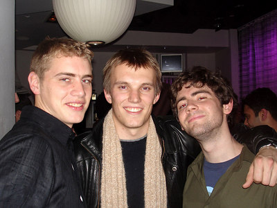 Rob, Phil, and the Leprachaun - Washington, DC ... December 10, 2005