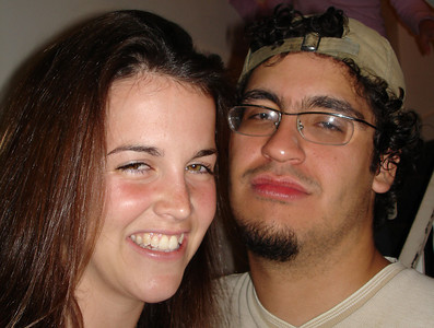 Christine and Ponce ... May 28, 2005