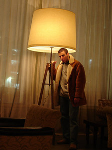Pedro at the SOHO Hotel - New York, NY ... January 4, 2006 ... Photo by Rob Page III