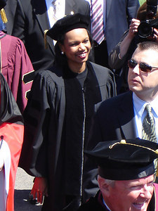 Condeleezza Rice - Chestnut Hill, MA ... May 22, 2006 ... Photo by Robert Page III