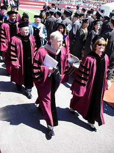 Graduation in Alumni Stadium - Chestnut Hill, MA ... May 22, 2006 ... Photo by Robert Page III