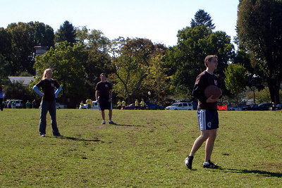 Getting ready to pitch for Itchy Crotch Initiative on the National Mall - Washington, DC ... October 14, 2006