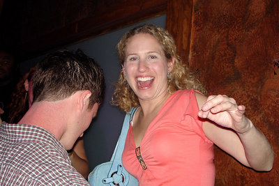 Sarah, getting her dance on - Washington, DC ... October 14, 2006