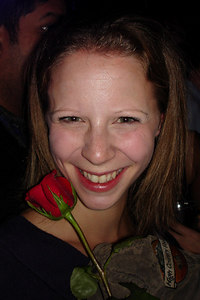 Emily enjoying the DC Kickball party - Washington, DC ... October 14, 2006