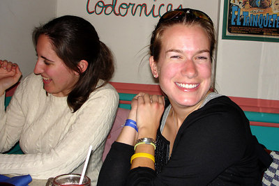 Jillian enjoying Cactus Cantina - Washington, DC ... November 4, 2006