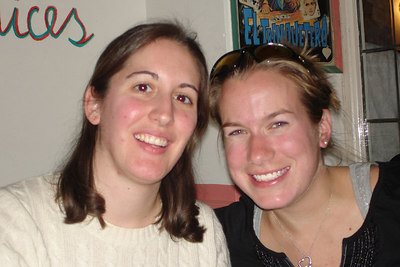 Christine and Jillian - Washington, DC ... November 4, 2006