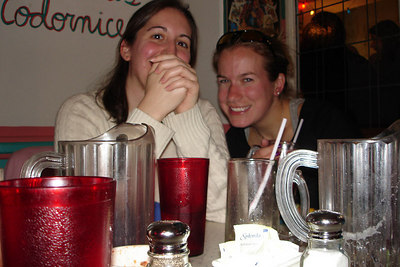 The two of you seem amused - Washington, DC ... November 4, 2006