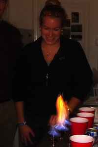 Flaming Dr. Peppers - Washington, DC ... November 4, 2006