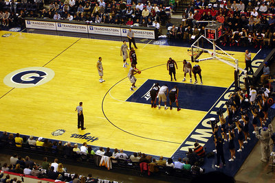 At the Georgetown-Cincinnati game - Washington, DC ... January 27, 2007 ... Photo by Rob Page III
