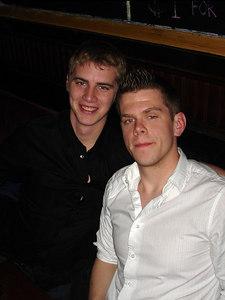 Rob and Chaz at Joshua Tree - New York, NY ... January 1, 2006