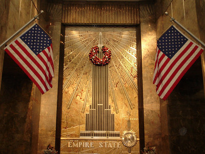 The Empire State Building - New York, NY ... January 1, 2006 ... Photo by Rob Page III