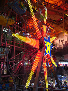 "The ferris wheel inside of the Toys ""R"" Us in Times Square - New York, NY ... January 1, 2006 ... Photo by Rob Page III"