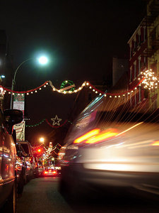 Little Italy - New York, NY ... January 1, 2006 ... Photo by Rob Page III