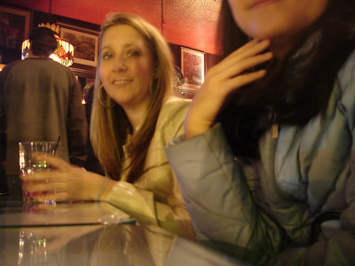 Out at Martin's Tavern - Georgetown, DC ... January 20, 2006 ... Photo by Rob Page IIII