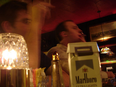 Out with Dermot and Nick at Martin's Tavern - Georgetown, DC ... January 20, 2006 ... Photo by Rob Page IIII