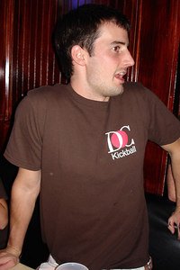 Enjoying the flip cup tournament - Washington, DC ... September 30, 2006 ... Photo by Rob Page III