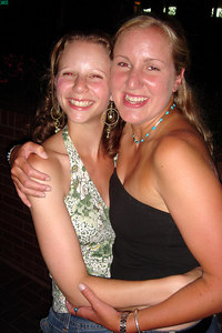 Heather and Emily on the streets of DC - Washington, DC ... July 8, 2006