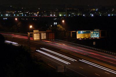 Highway Lights - Arlington, VA ... July 4, 2006 ... Photo by Rob Page III