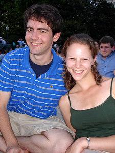 Dermot and Emily - Washington, DC ... July 3, 2006 ... Photo by Rob Page III