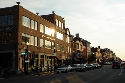 M St. at sunset - Washington, DC ... June 22, 2006 ... Photo by Rob Page III