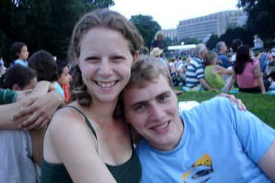 Emily and Rob  - Washington, DC ... July 3, 2006 ... Photo by Dermot Maher