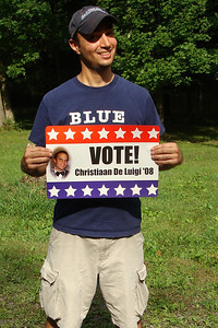 Vote for Christiaan - McHenry, MD ... September 14, 2008 ... Photo by Rob Page III