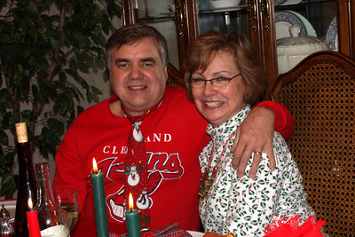 Mom and Dad at Christmas Dinner - Chagrin Falls, OH ... December 25, 2008 ... Photo by Rob Page III