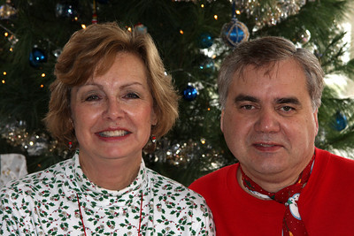 Mom and Dad enjoying Christmas - Chagrin Falls, OH ... December 25, 2008 ... Photo by Rob Page III